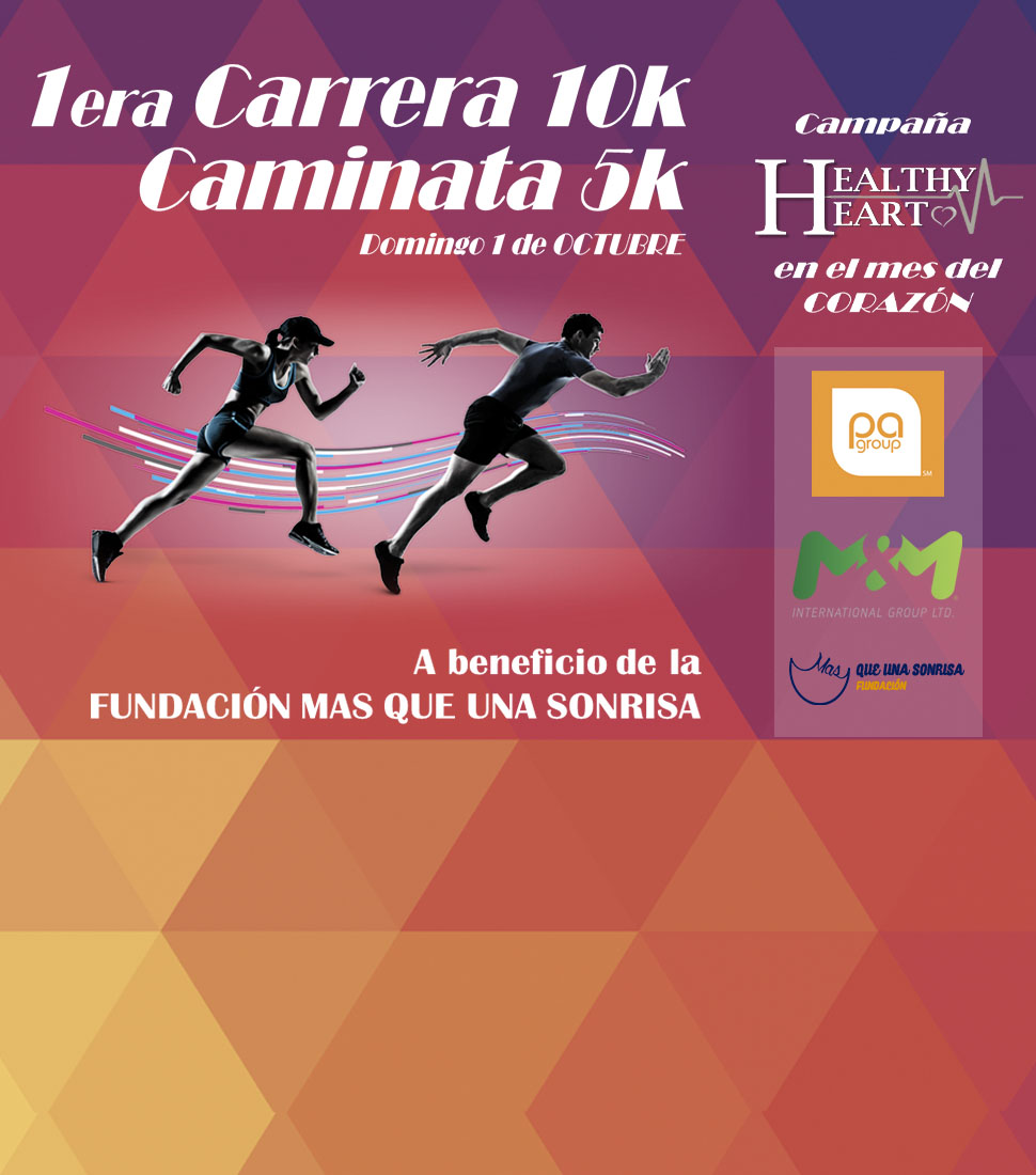 Carrera Caminata HEALTHY HEART