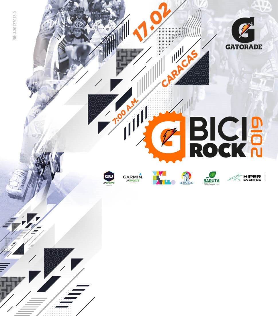 V GATORADE BICI ROCK