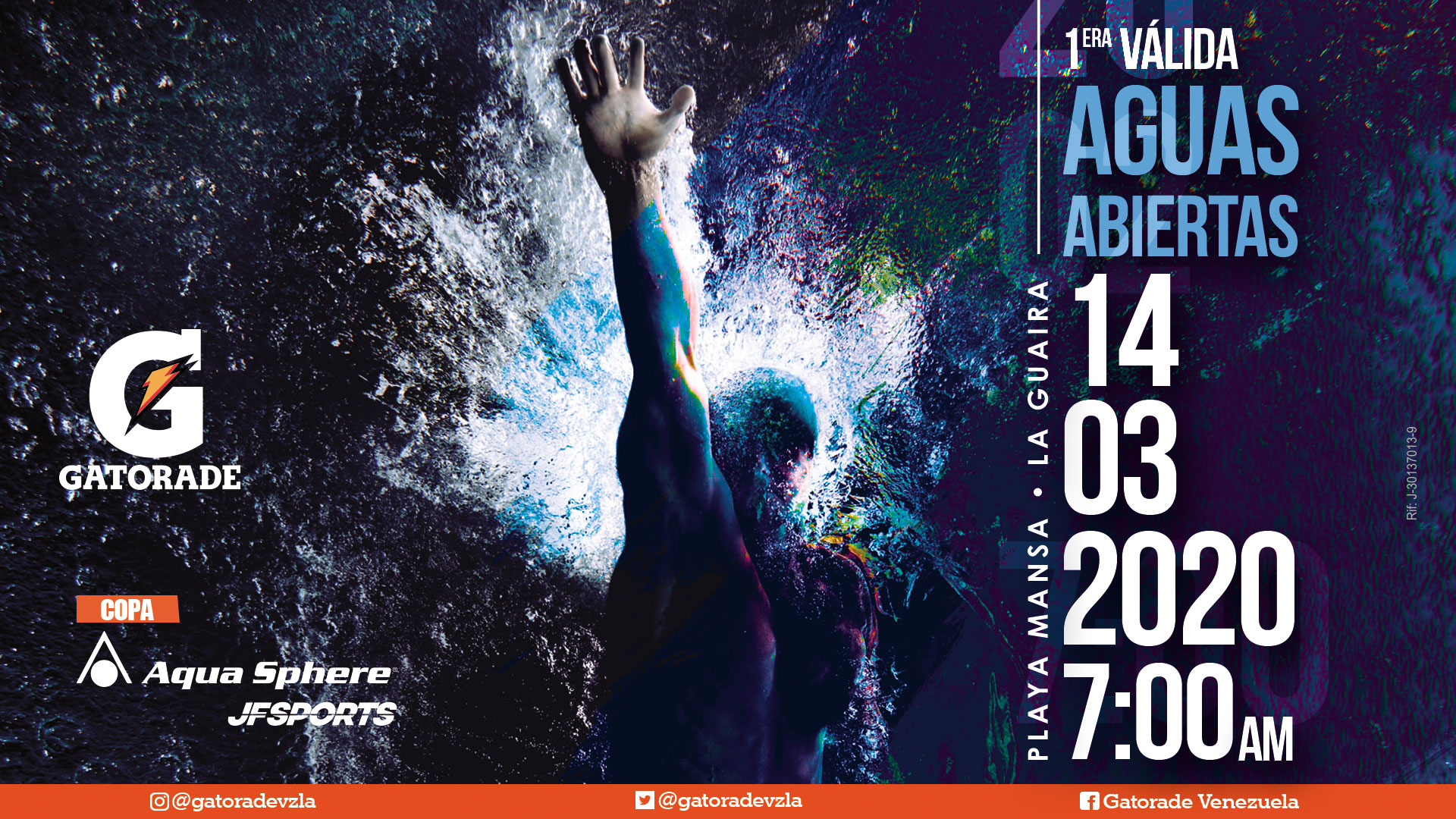 1era Válida Gatorade Aguas Abiertas - Copa AquaSphere JF Sports