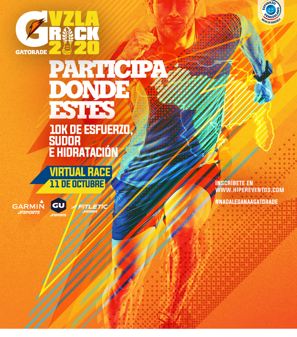 Gatorade Vzla Rock 10K